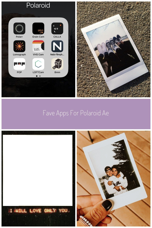 Fave Apps For Polaroid Aesthetic Apps Polaroid Fotos How To Memorize Things Polaroid Digital Camera Mom Box
