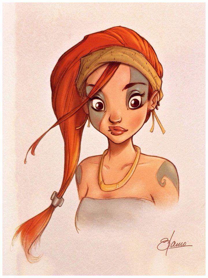 Character Design Woman : Cartooning character design girl