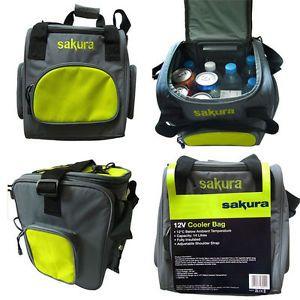 Sakura 12v Cooler Bag Drinks Insulated Backpack Camping Fridge ...