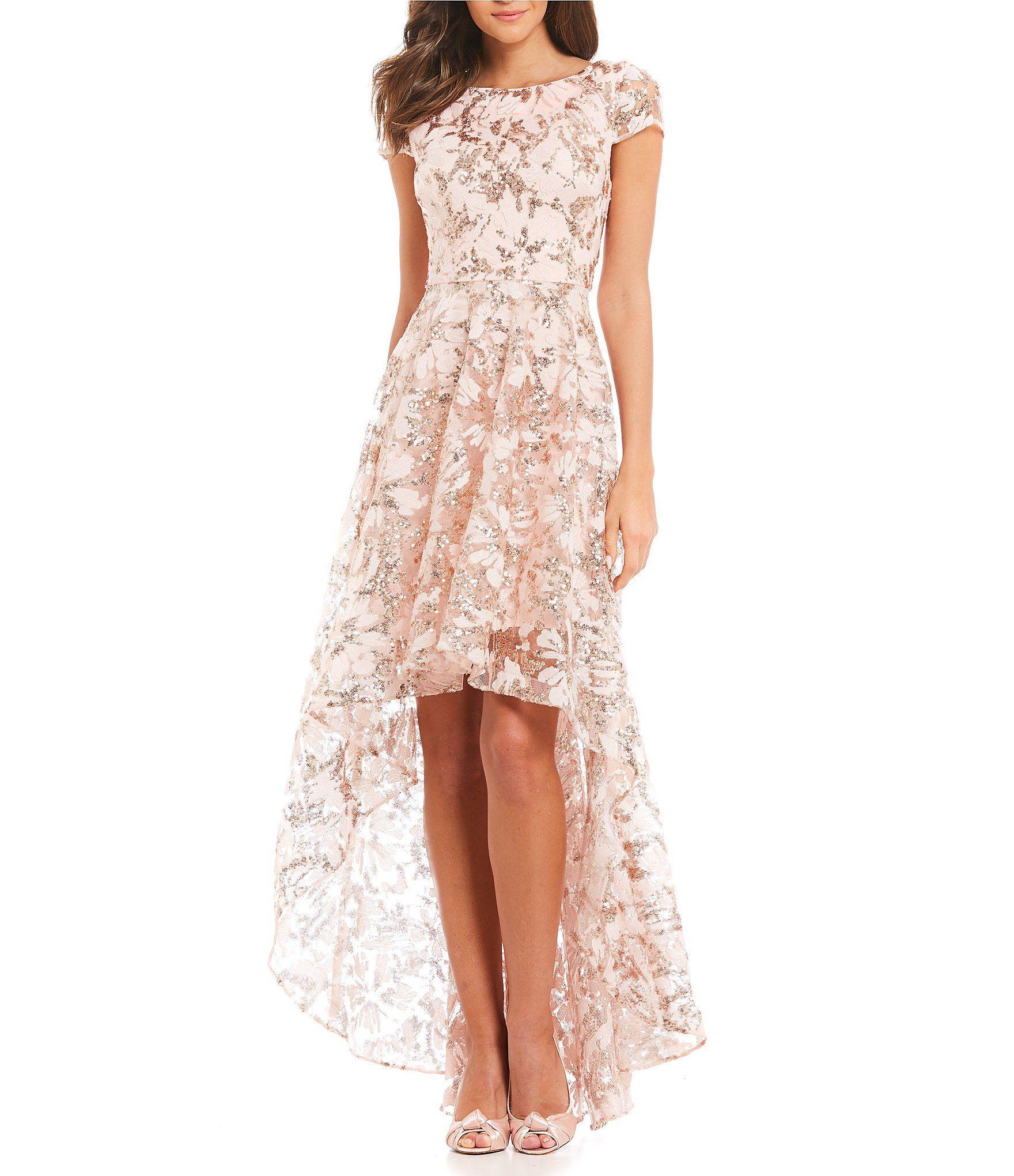 12a59dbafbd Shop for Eliza J Hi-Lo Sequin Gown at Dillards.com. Visit Dillards.com to  find clothing