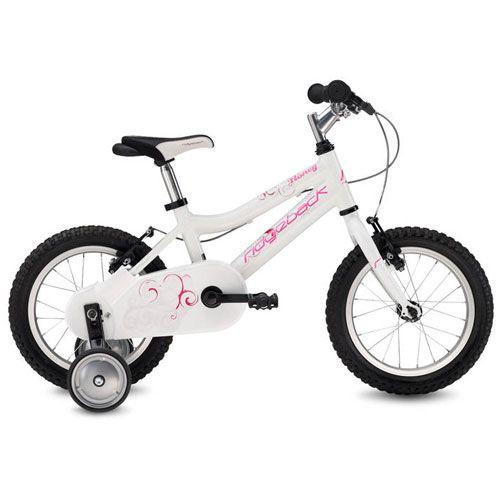 Ridgeback Mx14 Honey White Starter Bike Jump Start Bikes
