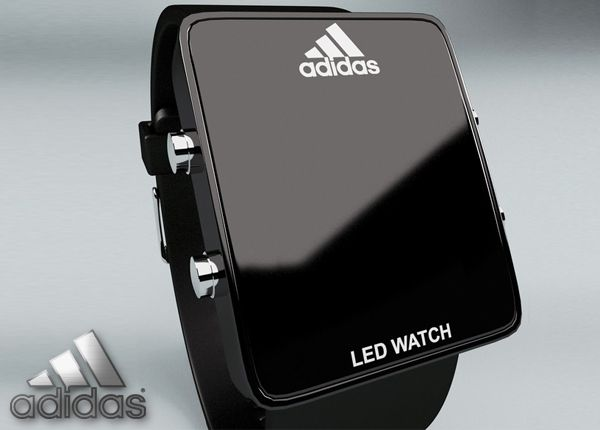 7af6a89b Часы Adidas LED Watch Black | I phone | Pinterest | Led watch ...