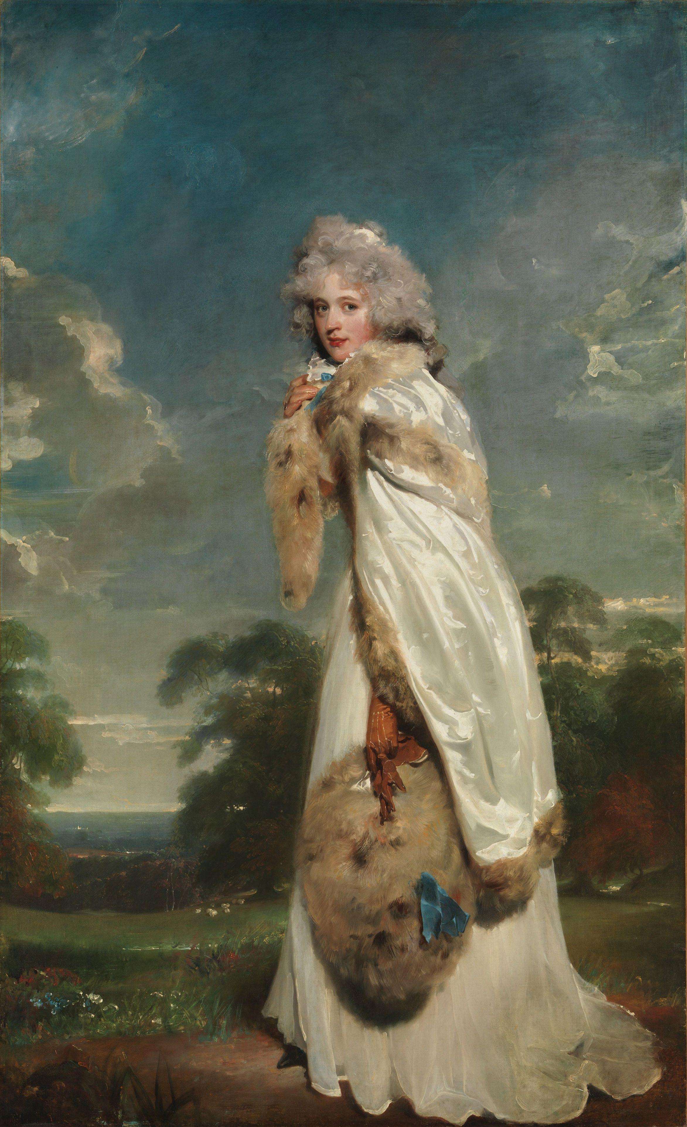 Elizabeth Farren, Thomas Lawrence, 1791