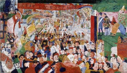 Christ's Triumphant Entry into Brussels, by James Ensor