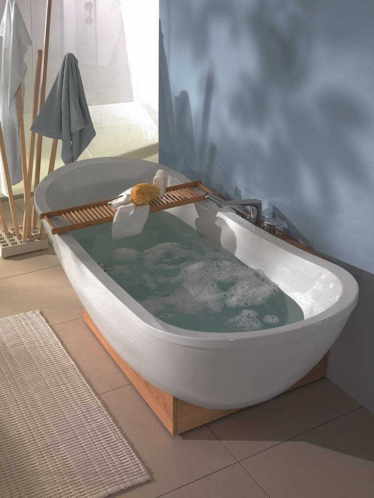 Tinas de baño NATURE de Villeroy   Boch en Zenth.  Bathtub  BathroomDesign   ModernBathroomDesign  Decor  InteriorDesign  ShapingYourWorld 7eb4258d1b68