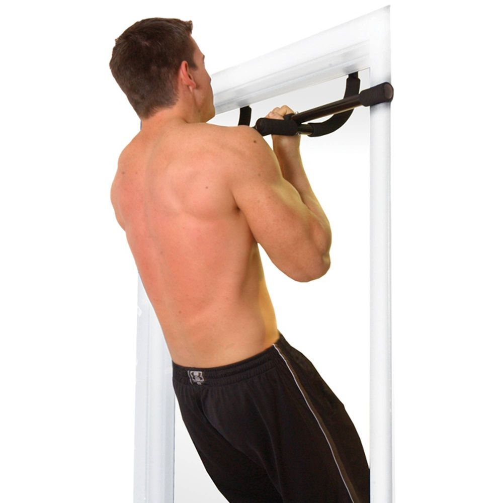 Pull Up Chinning Bar 200lb Doorframe Home Workout Gym Exercise Accessories Sale Workout Accessories At Home Workouts Pull Up Bar