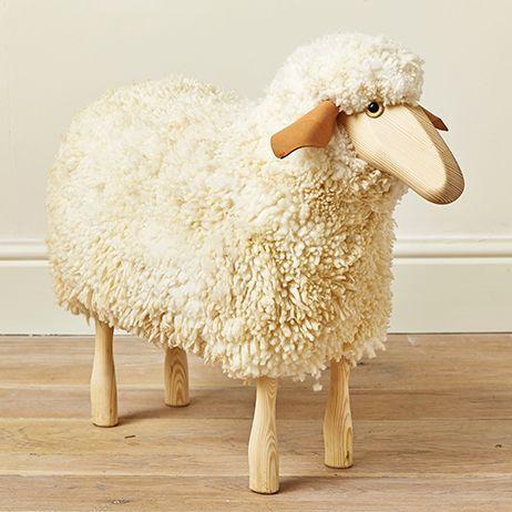 Wooden Sheep Stool   Mary Kilvert Idea