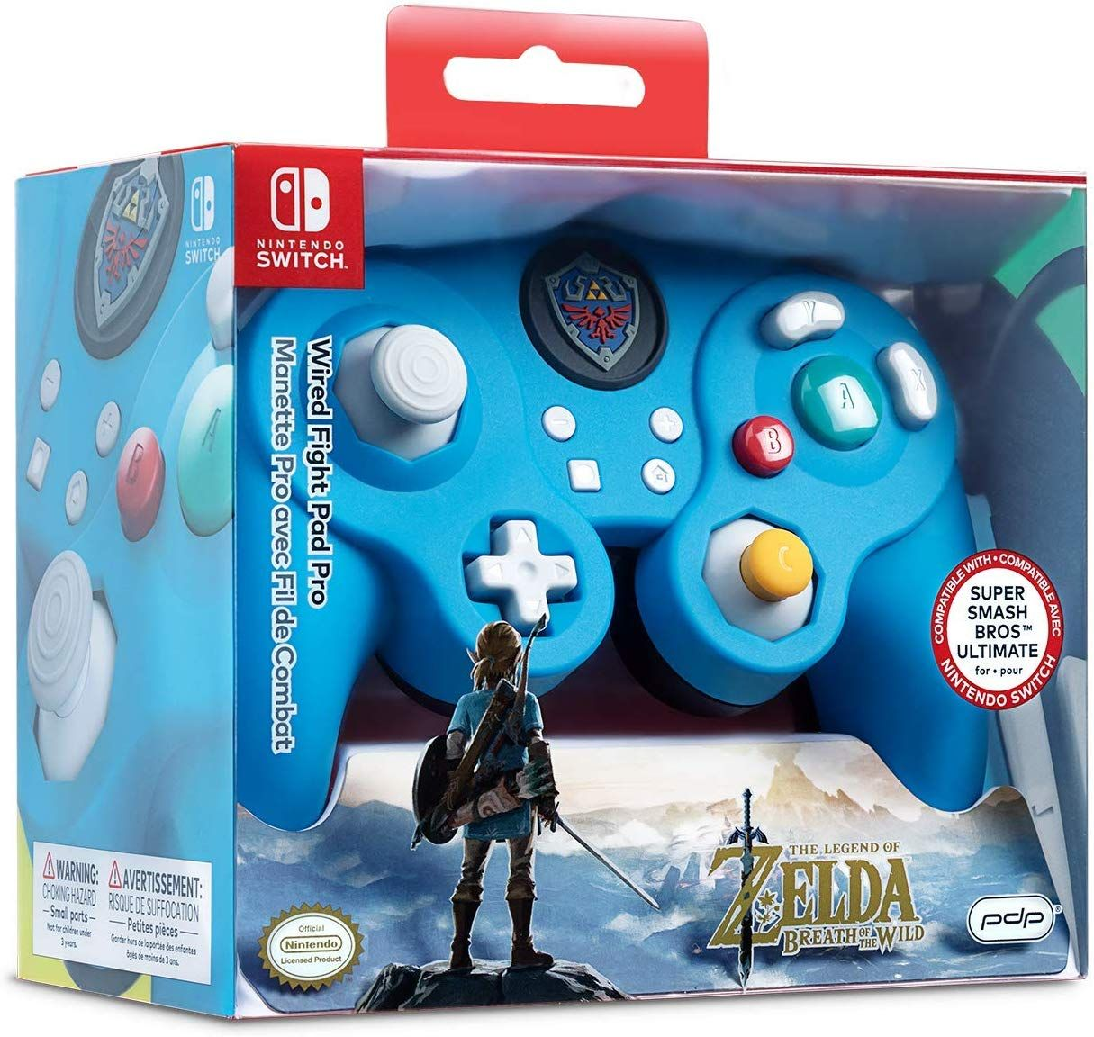 Pdp Nintendo Switch Link Wired Fight Pad Pro 500 100 Nintendo Switch Video Games Nintendo Switch Nintendo Switch Accessories Legend Of Zelda