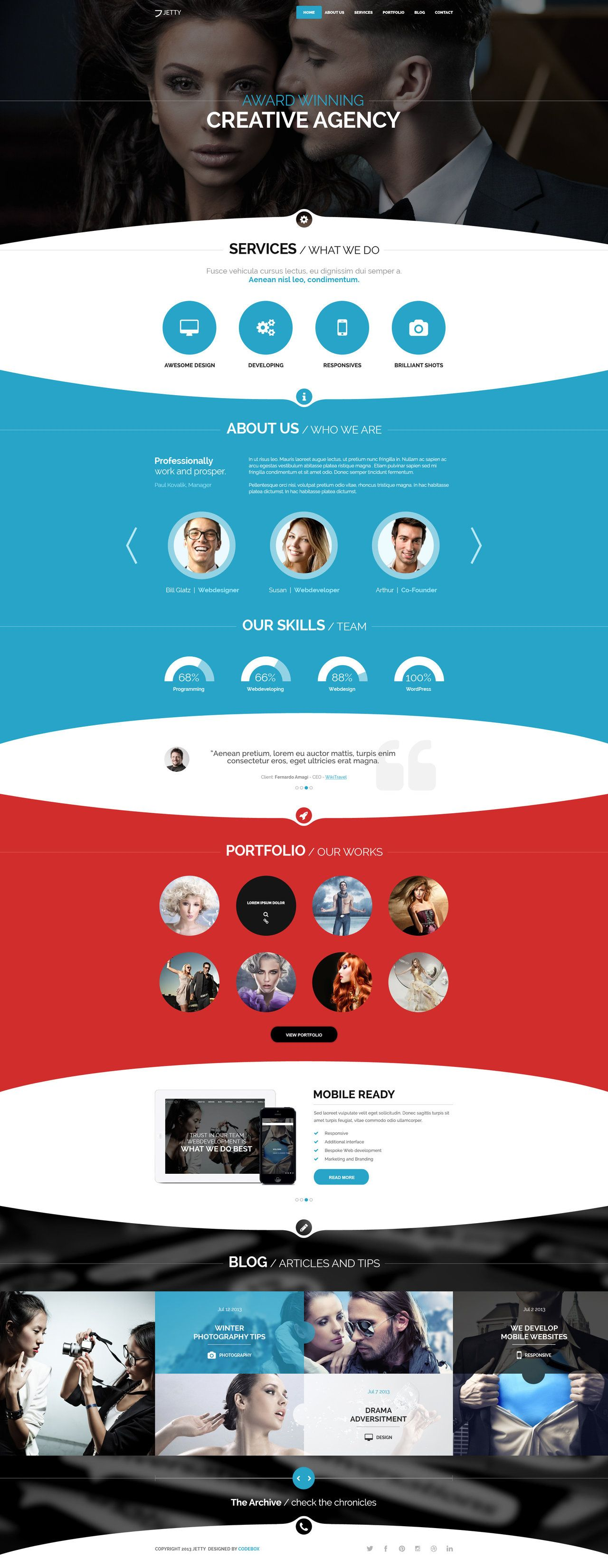 Jetty PSD Template by webdesigngeek.deviantart.com on @deviantART