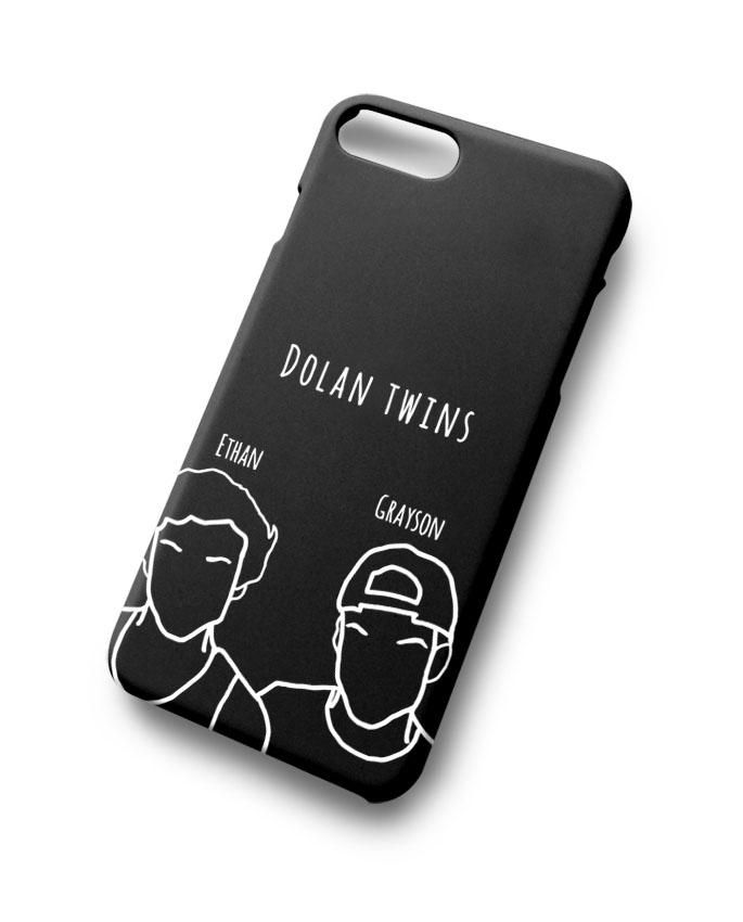 33f998049 Minimalist Dolan Twins For iPhone 7 7 Plus 8 8 Plus in 2019 | E ...