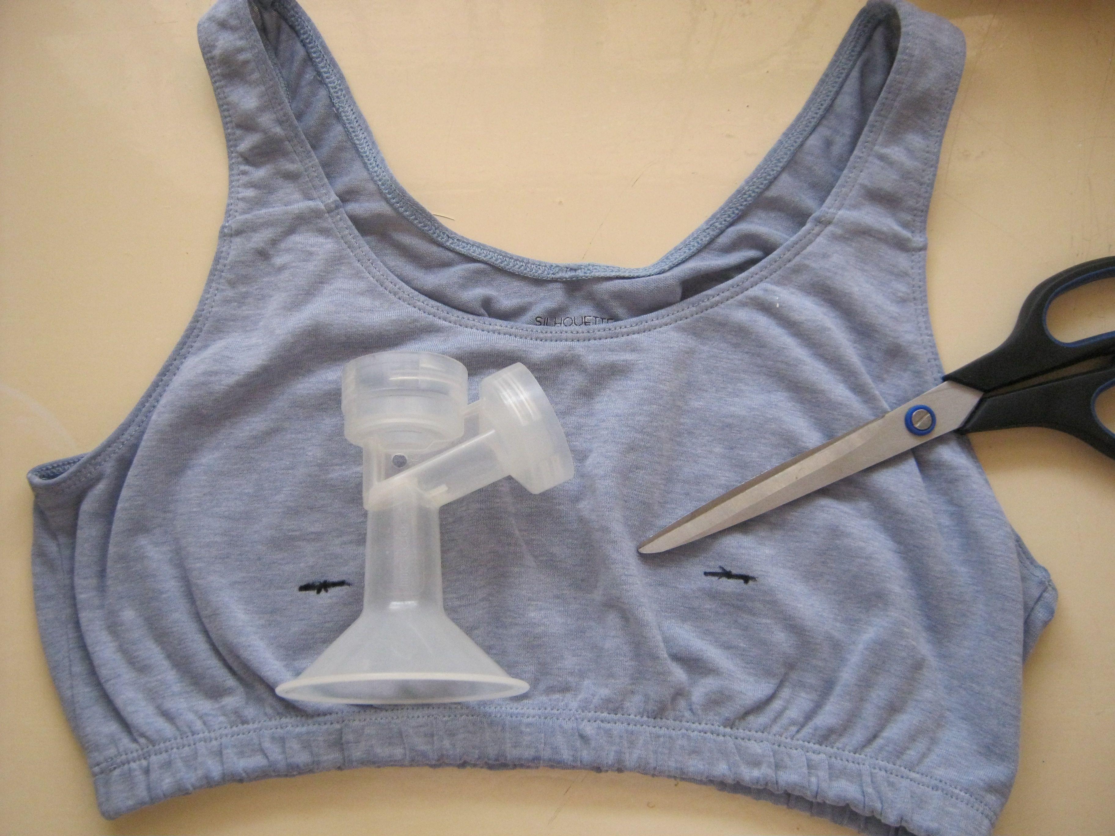 How to make a pumping bra pumping bras breastfeeding