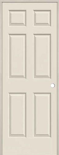 6 Panel Hollow Core Interior Prehung Door Unit