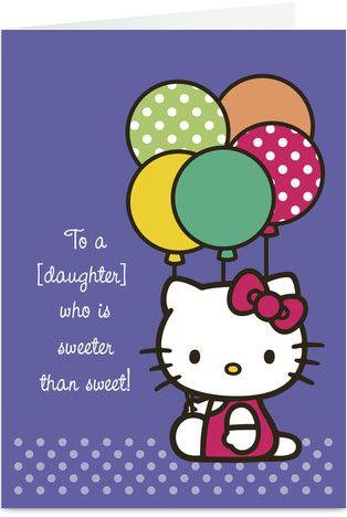 Purple Balloons Hello Kitty With Images Hello Kitty Kids