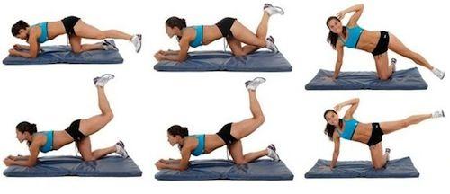 Ejercicios para adelgazar caderas rapido