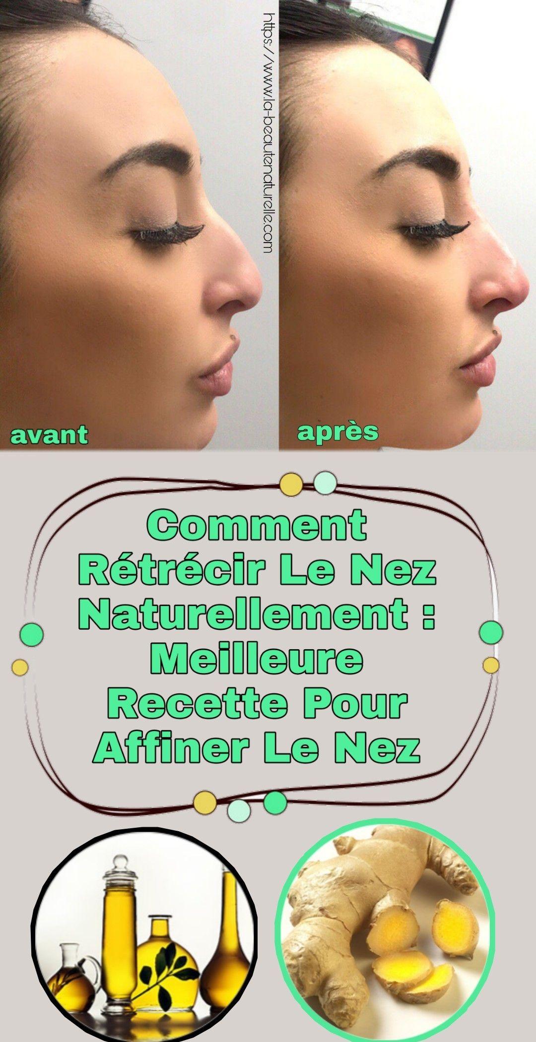 Comment Avoir Un Nez Fin Naturellement