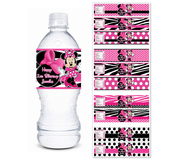 photograph about Free Printable Minnie Mouse Water Bottle Labels referred to as April 2006 Bottle Feeding Recommendations