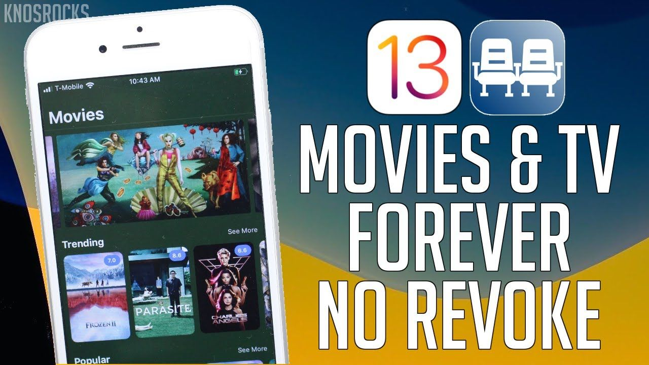 NEW!! Best Movie & TV Show App FREE iOS 13 13.3.1 / 12