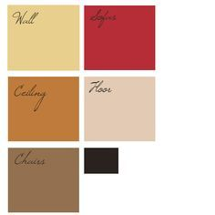 color scheme in brown and red pinterest Pesquisa do Google