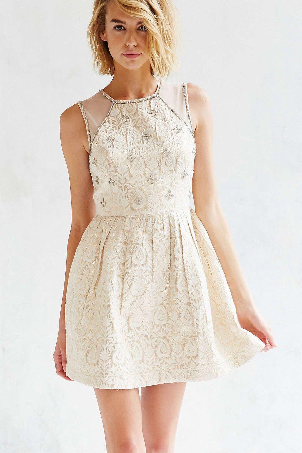 Kimchi Blue Rococo Rhinestone Dress  Kleider, Strass kleid, Coole