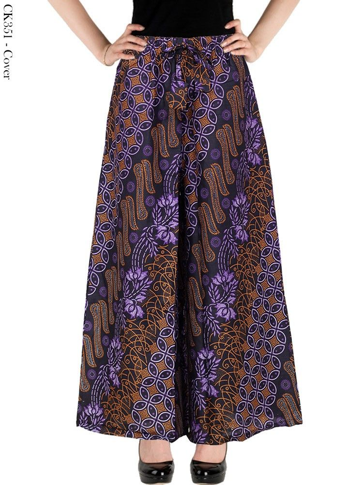 Celana Kulot Batik Wanita Modern Masa Kini  a508a86778
