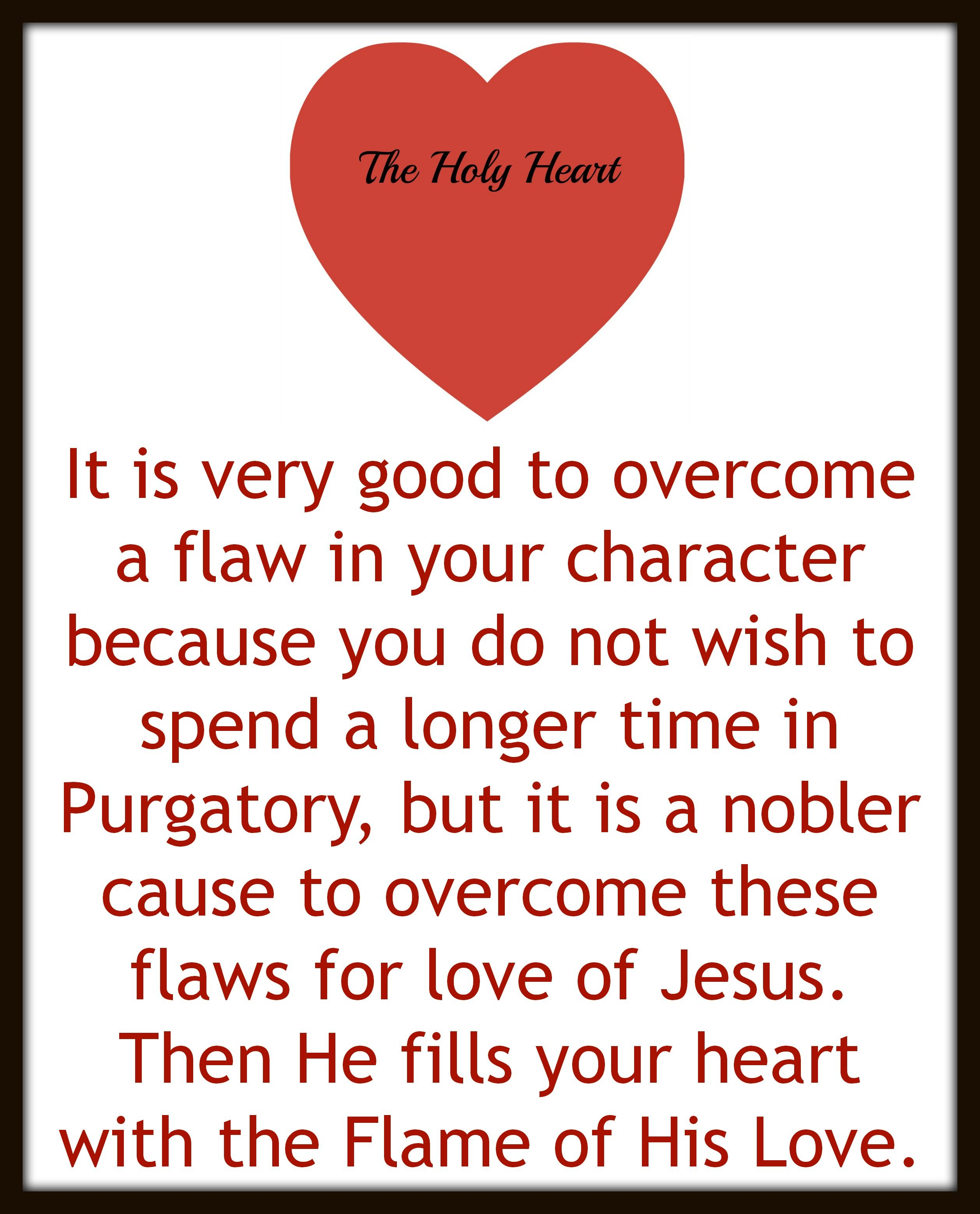 overcoming flaws