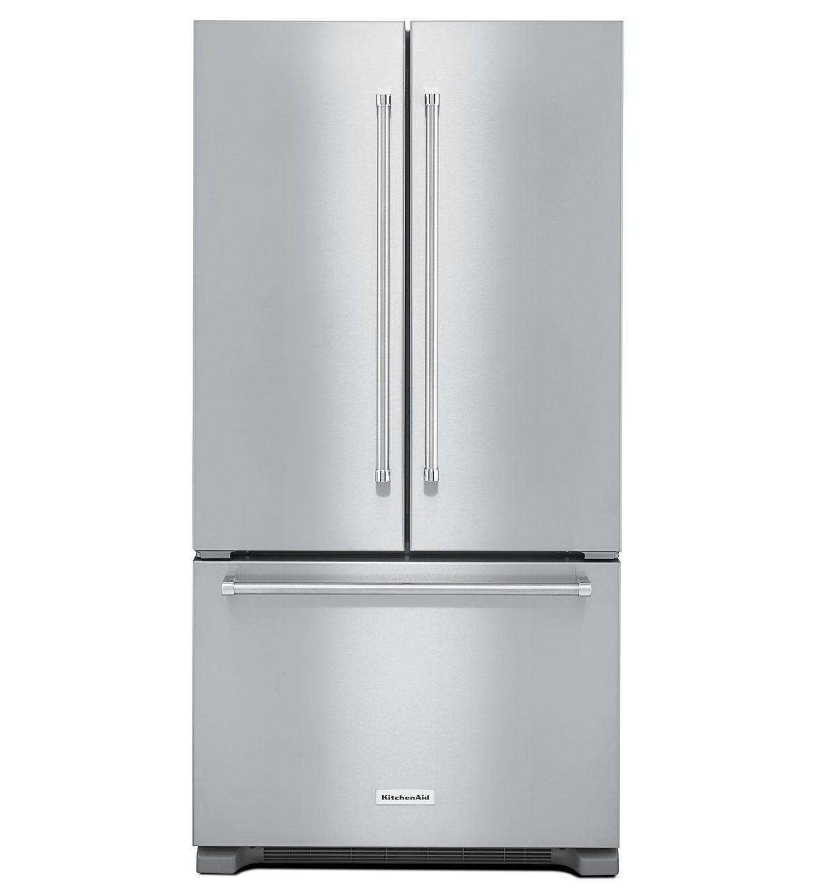 22 Cu Ft 36 Inch Width Counter Depth French Door Refrigerator
