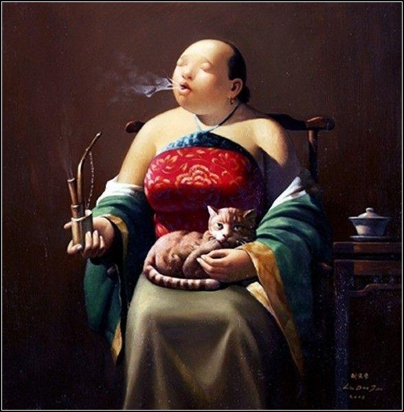 By the artist ~ Liu Baojun