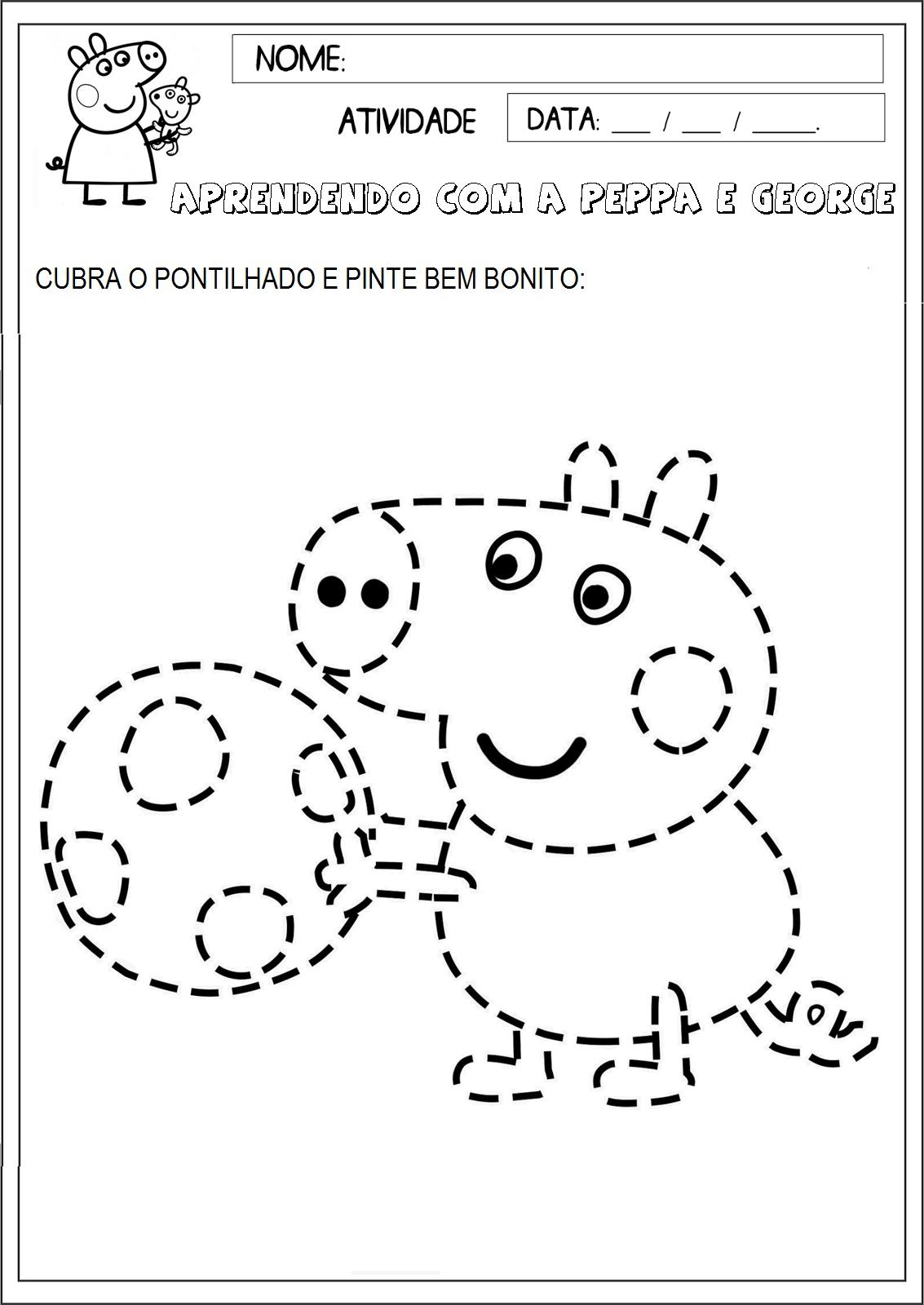 Educacao Infantil Facil Atividades Peppa Pig In