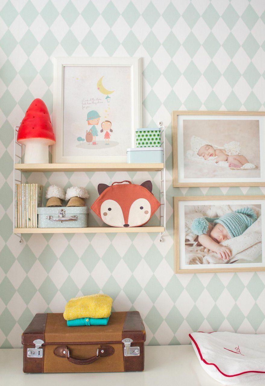 La dulce habitaci n infantil compartida de las peque as - Habitacion infantil compartida ...
