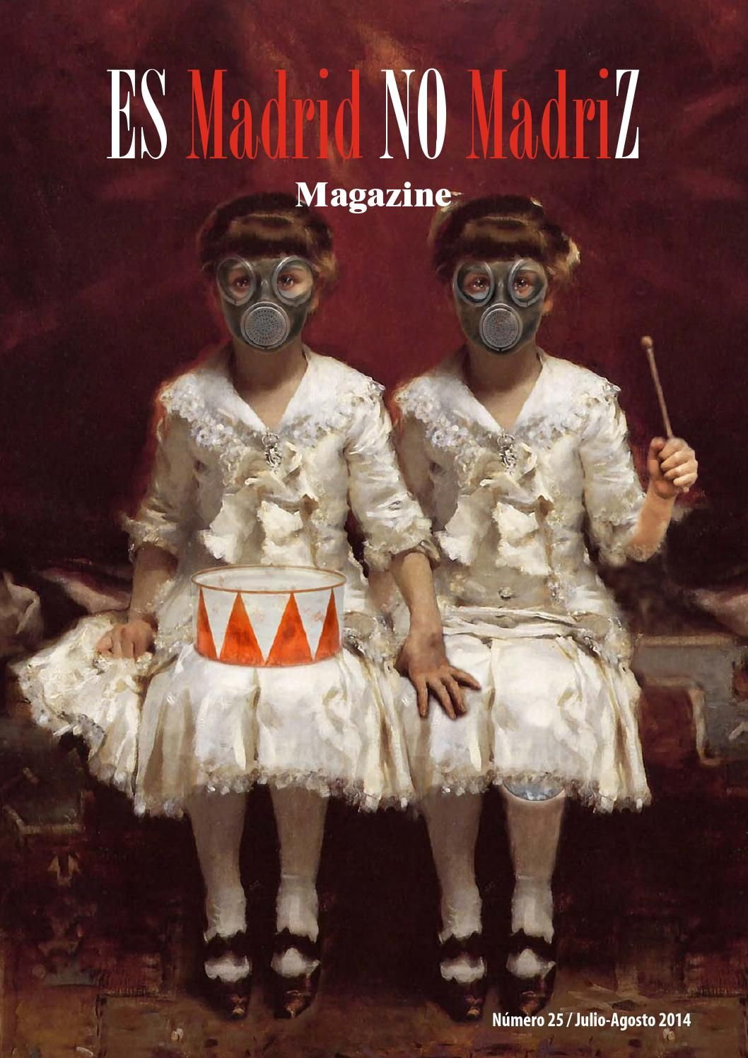 Revista Es Madrid no Madriz. Verano 2014
