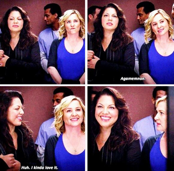 Grey's Anatomy - that awkward moment when your plans backfire on you..