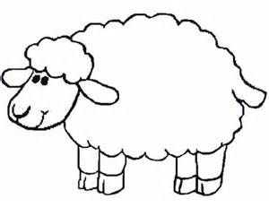 Sheep Coloring Pages To Excite Kids Sheep Template Sheep