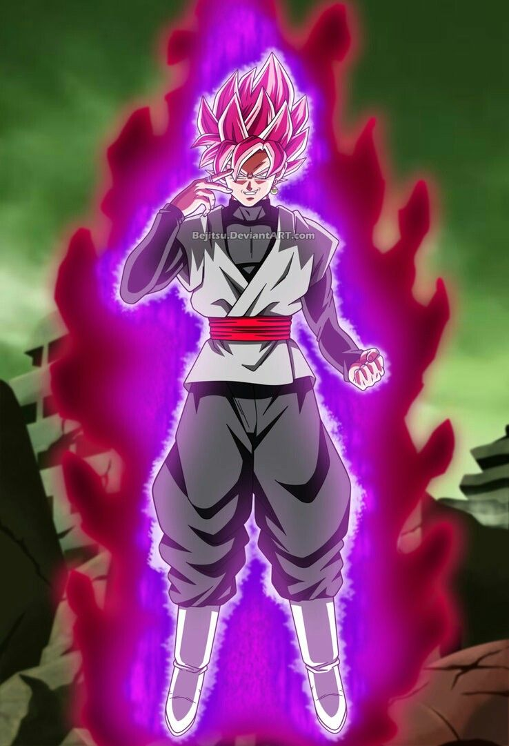 4acdc2607d Goku black super sayian rose Dragon Ball Super | Dragon ball Z/GT ...