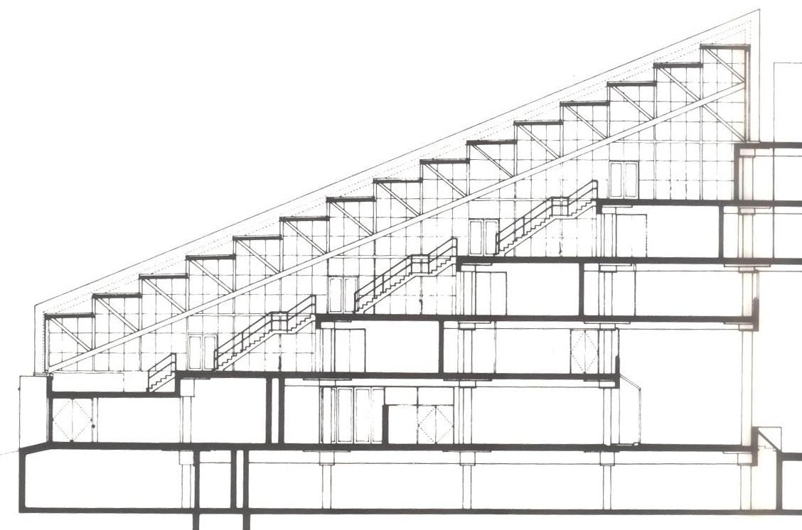 Gund hall section google search architecture schools for Architecture harvard