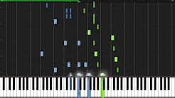 Minute Waltz - Frederic Chopin [Piano Tutorial] (Synthesia
