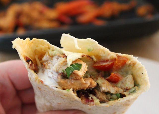 Chicken Fajitas nach Jamie Oliver #steakfajitarecipe