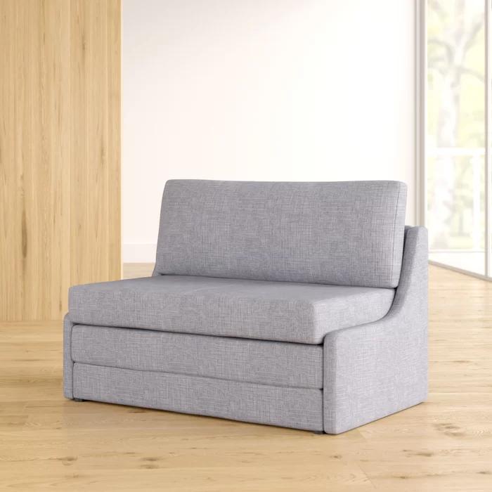 "Sabine 43.31"" Armless Sofa Bed in 2020 Sofa bed, Armless"