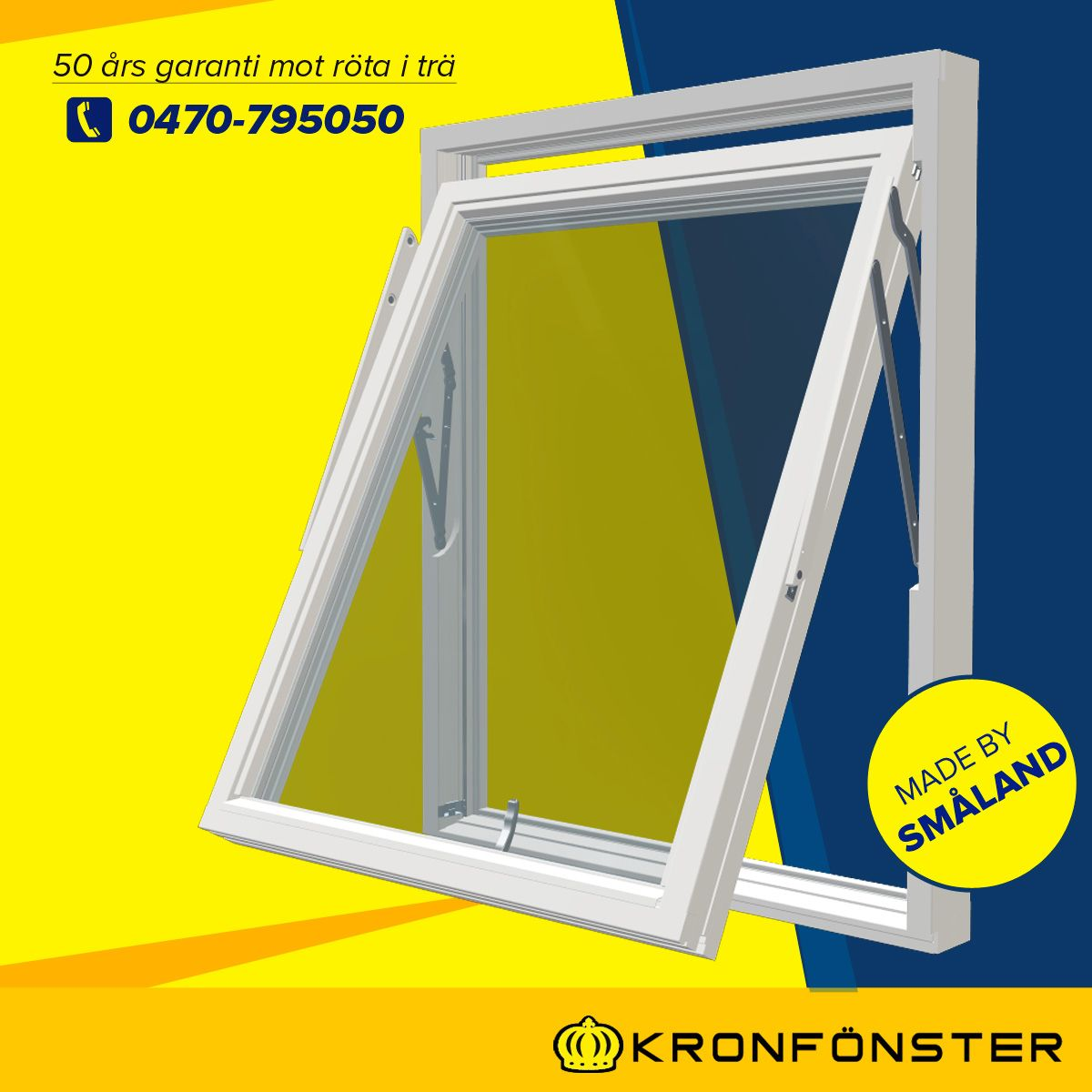 Fast fönster modulmått från Kronfönster - Made by Småland ...