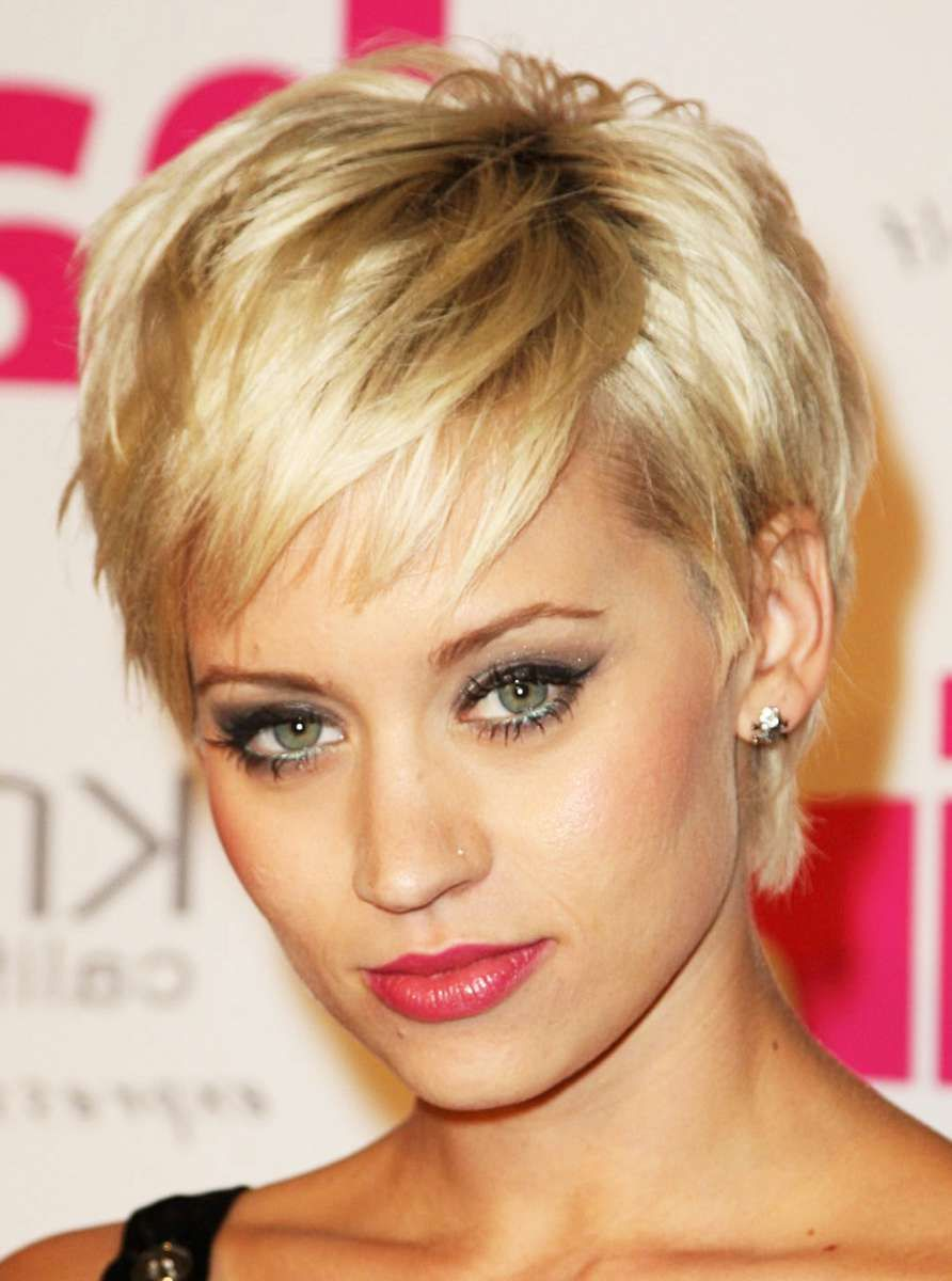 different types of short choppy hairstyles : simple hairstyle
