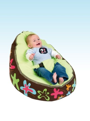 Doomoo Zitzak Lime.Doomoo Seat Lime Splash Nursery Furniture Baby Accessories
