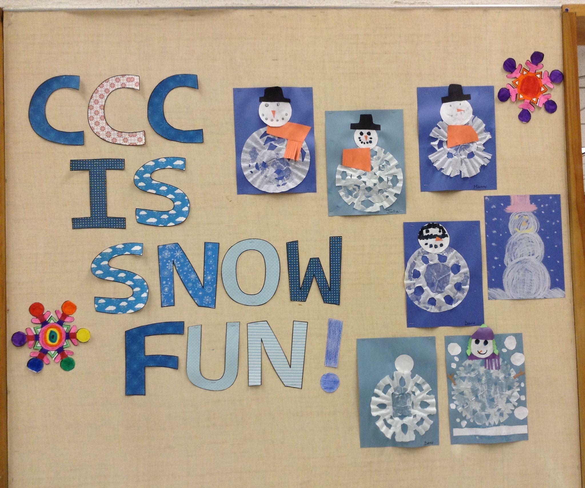 Im S Winter Bulletin Board