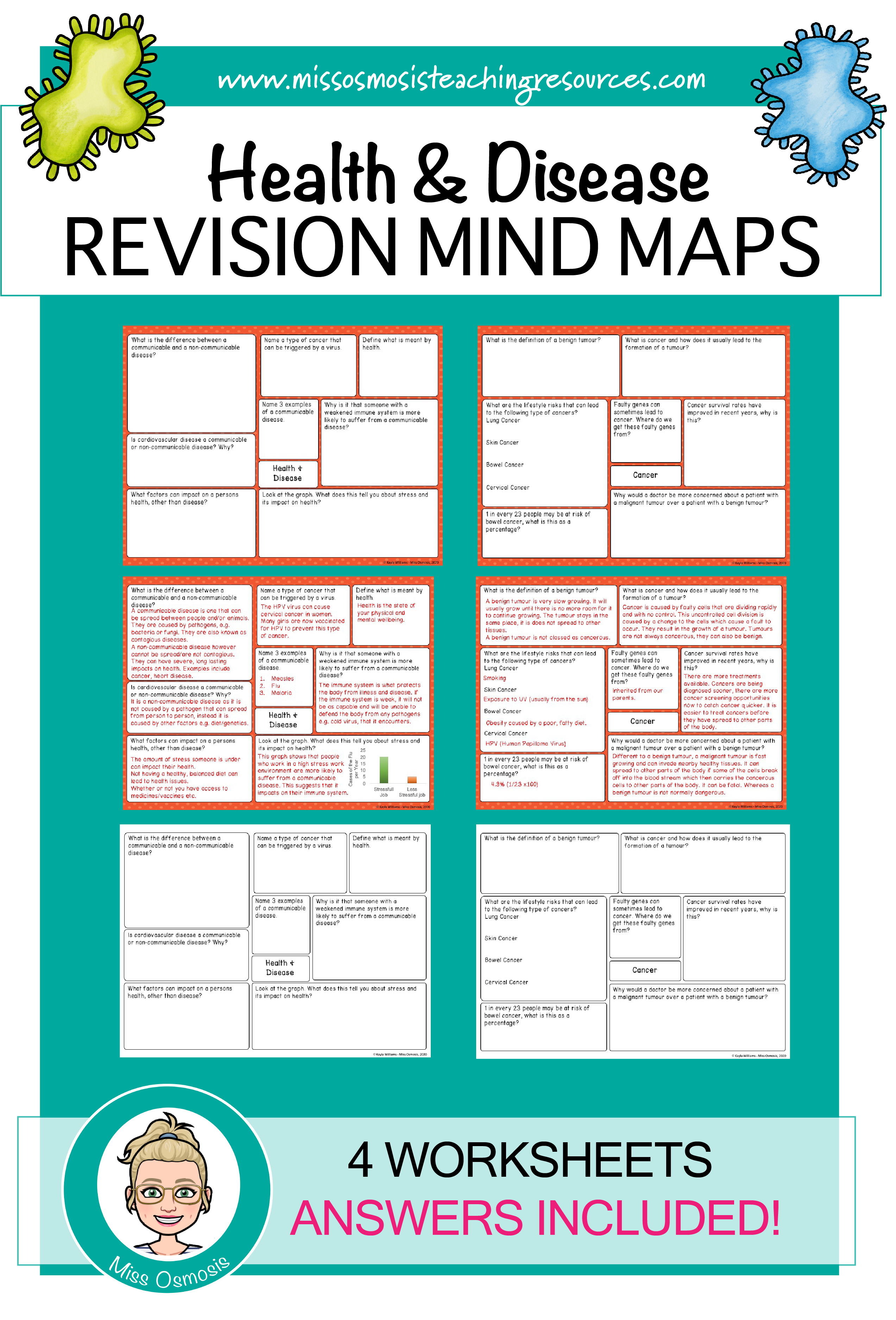 hight resolution of Health Disease Worksheet   Printable Worksheets and Activities for  Teachers