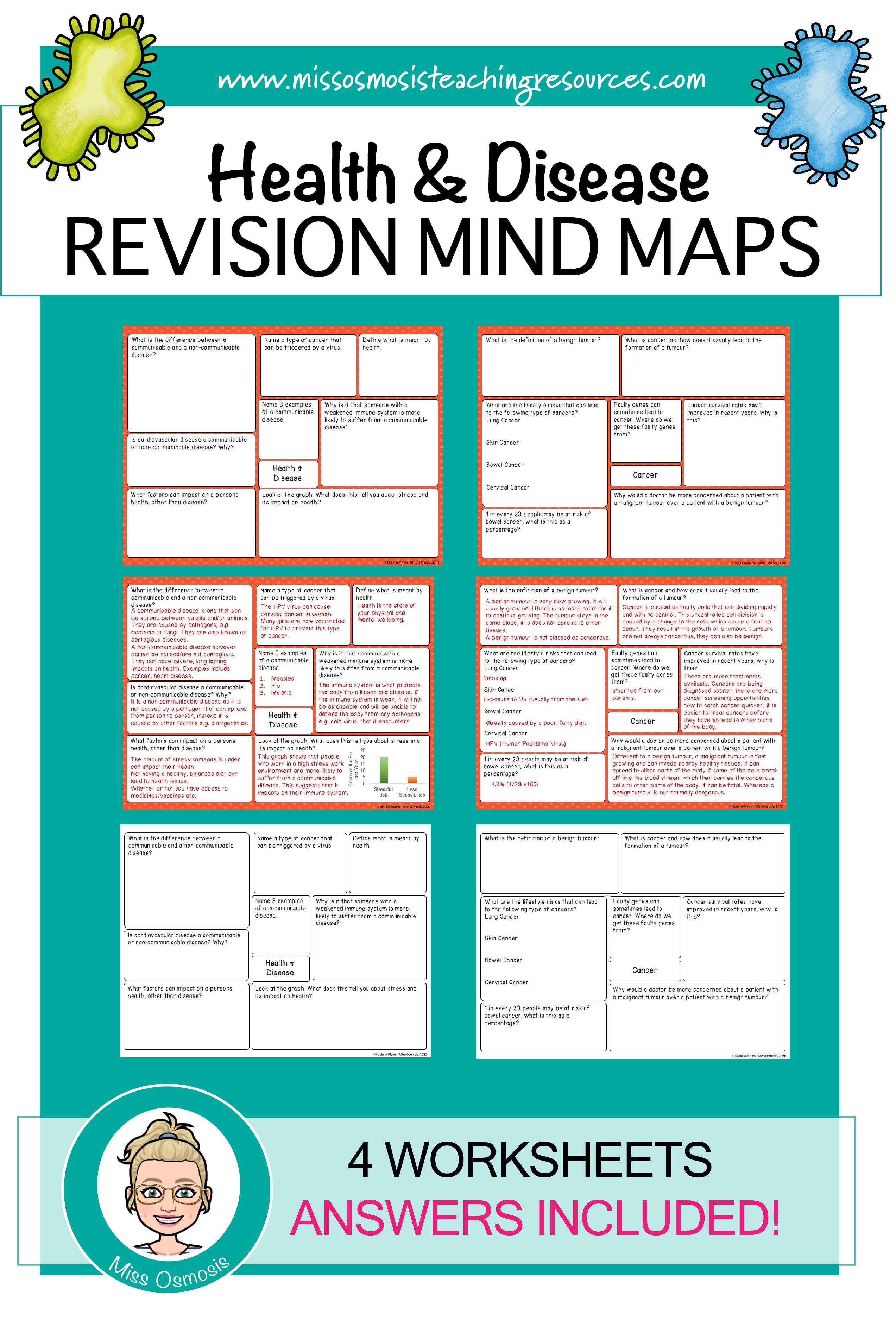 Health Disease Worksheet   Printable Worksheets and Activities for  Teachers [ 3750 x 2546 Pixel ]