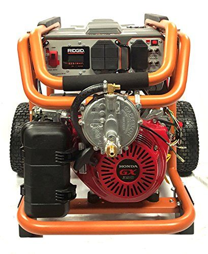 Honda Commercial Tri Fuel Generator Complete Package 15000 Starting Watts  8400 Running Watts Reviews $ 3,999.99