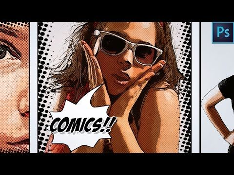 Video How To Make A Comic Book Cartoon Effect From Photo