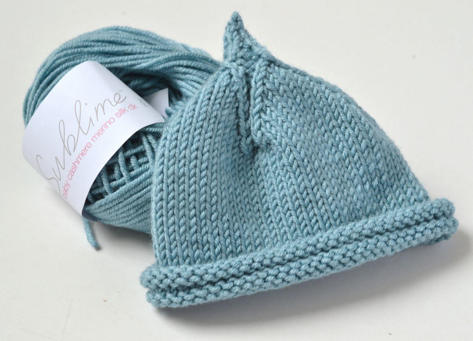 f2f3f1d05da I chose to knit my Classic Pixie Beanie in Sublime Cashmere Merino Silk DK