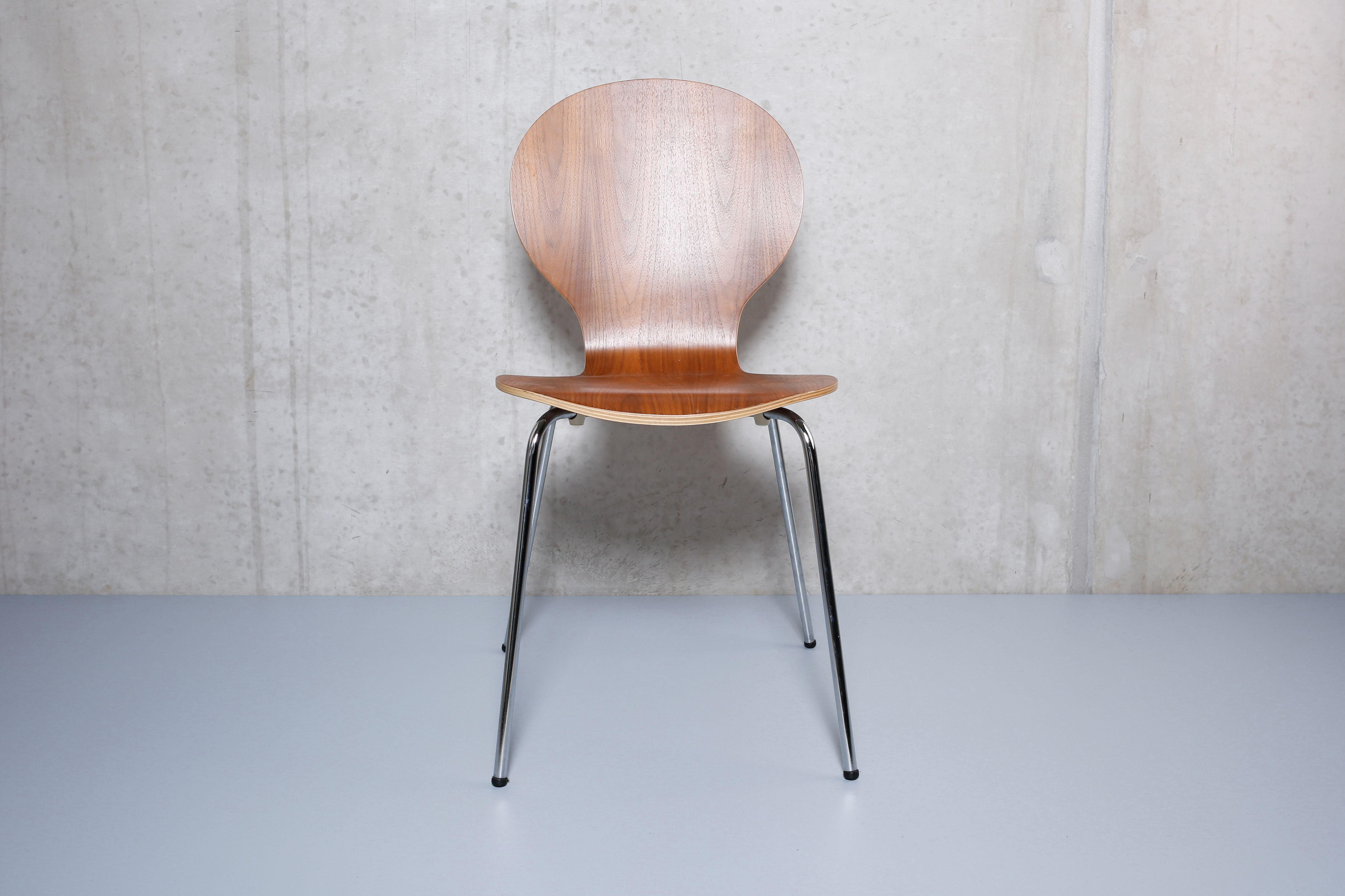 Stuhl Klassiker Holz stahlrohr holz stuhl klassiker nachbau verchromte stahlrohrbeine