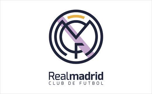 Concept Rebrand For Real Madrid Football Club Logo Designer Real Madrid Logo Real Madrid Real Madrid Football Club