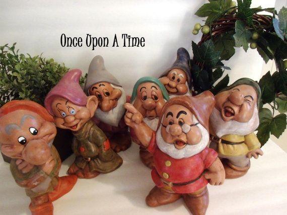 Disney 7 Dwarfs - Garden Statues