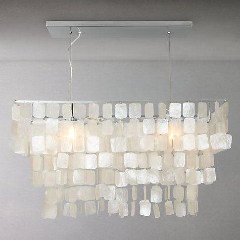 buy john lewis lysander shells over table ceiling light. Black Bedroom Furniture Sets. Home Design Ideas